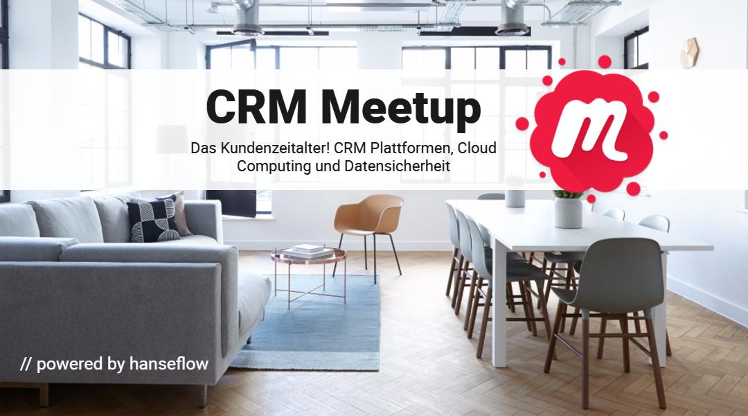 CRM Meetup am 04.12. zum Thema IT-Security & Plattformen