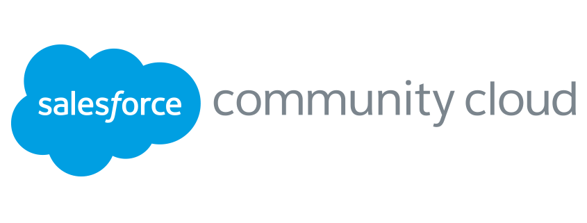 Logo der salesforce community cloud