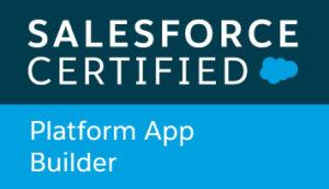 Zertifiziert als Platform App Builder